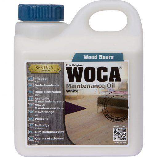 Woca Onderhoudsolie WIT